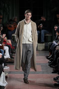 Billy Reid Fall 2015 Menswear Fashion Show