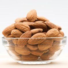 Almonds contain Vitamin E, potassium, and magnesium