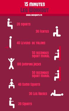 15 minutes workout : special legs !