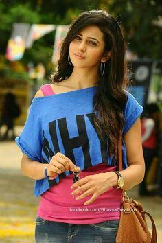 Rakul Preet Singh in Loukyam Beautiful Girl Photo, Beautiful Girl Indian, Most Beautiful Indian Actress, Stylish Girl Images, Stylish Girl Pic, Indian Celebrities, Bollywood Celebrities, Beautiful Bollywood Actress, Beautiful Actresses