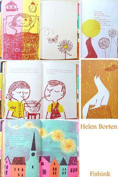 Fishinkblog Helen Borten | Illustrations | Pinterest