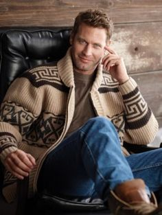 """The """"Dude"""" Cardigan from Pendleton"""