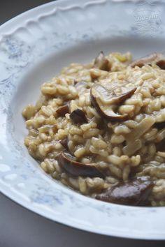 Risotto grzybowe | Kuchnia Bazylii