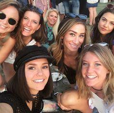 Nina Dobrev & friends at Coachella on April 14th, 2017