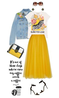"""Blind for love"" by lera-chyzh ❤ liked on Polyvore featuring Emilio Pucci, Gianvito Rossi, Gucci, Rochas and NIKE"