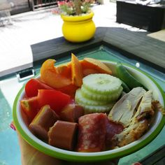Healthy Poolside snack ideas by Hungry Hubby and Family Toddler Lunches, Cantaloupe, Snacks, Fruit, Healthy, Ideas, Food, Appetizers, Eten