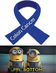 colorectal cancer humor minions