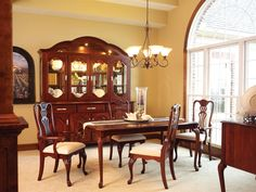 Regal Dining Room Suite Available In A Variety Of Stains, Woods U0026 Sizes.