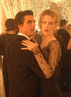 Eyes Wide Shut (1999) Stanley Kubrick's final movie with Tom Cruise & Nicole Kidman. Not one of Kubrick's best, but I always admired the way he shot his scenes in all of his movies. And he pretty much worked on his terms. He shot all (but one) of his movies in London, where he lived until he died in 1999.