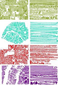 Map Deconstruction Into Shape via Size