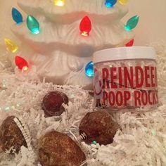 Better Than Coal Reindeer Poop Rocks! Shimmering + Scented Geodes in Unique Plants + Gardening Gifts