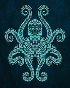 Zen octopus