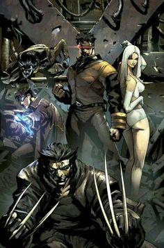edgy X-Men