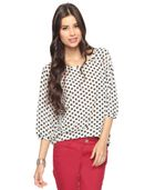 Polka Dot Top -- can't beat the price!