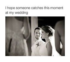 I would love someone to catch this moment it speaks a lot on its own Cute Wedding Ideas, Perfect Wedding, Dream Wedding, Wedding Stuff, Wedding Fotos, Wedding Pictures, Wedding Wishes, Wedding Bells, Monsieur Madame