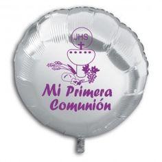 GLOBO POLIAMIDA COMUNION. www.chuchelandiajl.com