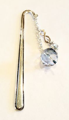 Please use coupon code HOLIDAY15 for a 20% discount on all items in my shop! Infinity Bookmark Crystal Bookmark  Beaded Bookmark by GemsbyJoniH