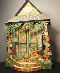 Graphic 45 Artisan Style House by Debra Flowers