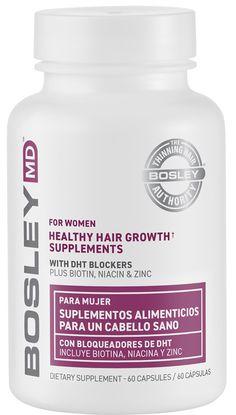 Bosley Healthy Hair Growth Supplements for Women | Ulta Beauty