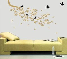 Adesivo Decorativo Parede Galho Árvore
