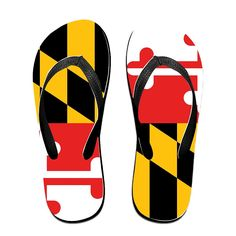 Maryland Flag Unisex's Flip Flops ** Find out more about the great product at the image link.