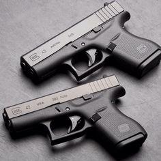 Glock 42 and Glock 43