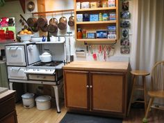Kitchen Photos Enamelware Design Ideas, Pictures, Remodel, and Decor - page 2