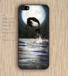 iPhone 6 case mermaid cartoon iphone case,ipod case,samsung galaxy case available plastic rubber case waterproof B133