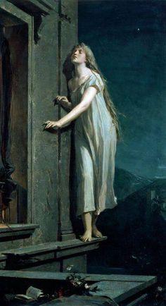 Maximilian Pirner, The sleepwalker, - fotografie Illustrations, John Everett Millais, Art Ancien, Arte Obscura, Wow Art, Classical Art, Classical Mythology, Renaissance Art, Painting Art