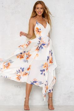 Somewhere In Paradise Maxi Dress