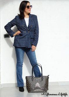 Giacca a quadri da donna  come abbinarla  - A Glamorous Lifestyle by Rita  Amico 4851a07c3bc