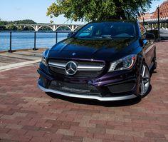 MY NEW CAR!!!!!  It will be waiting for me in Guam!!!  BEST HUSBAND EVVVVVVVER!!!!! mercedes cla 250 northern atlantic violet | Northern Lights Violet CLA photos