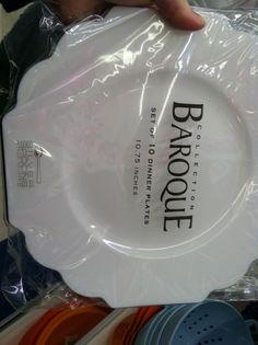 Wedding plates classy disposables