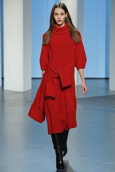 Tibi   Fall 2014 Ready-to-Wear Collection   Style.com    the perfect red!