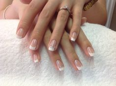 Shellac bridal French with diamontes