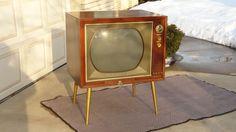 Vintage 1959 RCA Victor CTC-9 console COLOR TV Television!   #RCA
