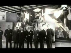 Pablo Picasso. Documental: Guernica, pintura de guerra. Dura una hora 5 minutos. ¡Mira todo antes de usar en clase!