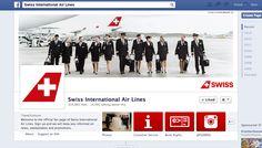 Nicht sicher, ob das als Schweizer Seite durchgeht. SWISS International Airlines zeigt Events, Angebote, via Instagram auch spannende Blicke hinter die Kulissen. Sauber aber unspektakulär (mehr würde gehen). Create Page, Travel And Leisure, Events, Facebook, Instagram, Backdrops, Swiss Guard, Things To Do