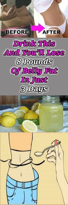 Drink This And You'll Lose 8 Pounds Of Belly Fat In Just 3 Days via @globalpublichealth
