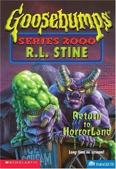 Return to Horrorland (Goosebumps Series 2000, No 13) by R.L. Stine http://www.amazon.com/dp/0590187333/ref=cm_sw_r_pi_dp_U-JMvb1VZS2RD