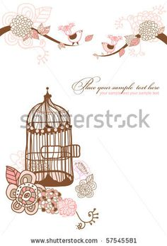 stock vector : floral background for your text.you can use this card like wedding or birthday invitation.