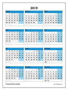 Calendrier Excel 2020.Calendrier 2020 A Imprimer Gratuit En Pdf Et Excel