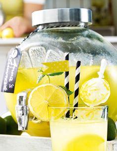 Ideal für Deine selbst gemachte Limonade: Der Geträngespender #Limonade