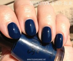 Rock-A-Guy-Blue is a navy crème that leans teal. From  Little Horse collection