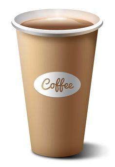 Paper Coffee Cup PSD