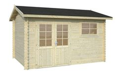 Iris 9.6sqm log cabin, garden office, Log Cabins for sale, Free Delivery
