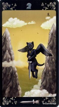Page of Swords - Black Cats Tarot - rozamira tarot - Picasa Web Albums