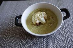 Cauliflower and Lentil Soup Lentil Soup, Lentils, Cauliflower, Ice Cream, Kitchen, Desserts, Food, Sherbet Ice Cream, Cooking