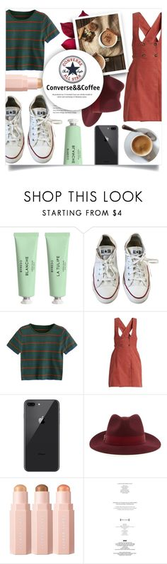 """""""Converse&&Coffee"""" by litenfels on Polyvore featuring Byredo, Converse, AlexaChung, Sephora Collection e StyleNanda"""