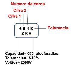 valor comercial capacitor